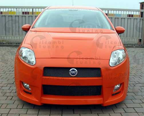 Bumper Sideskirts Air Intakes Eyebrows Fiat Grande